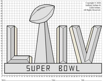 Super Bowl Trophy LIV (1-Quad) Mystery Picture