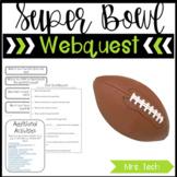 Super Bowl Webquest