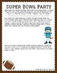 Super Bowl Word Problem Math Tasks