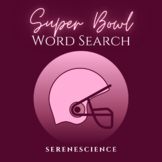 Super Bowl Word Search