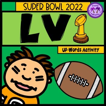"Super Bowl 2018 ""Up""-Words Activity"