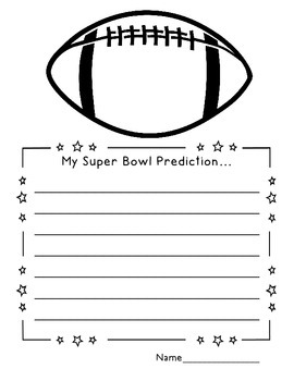 Super Bowl Writing