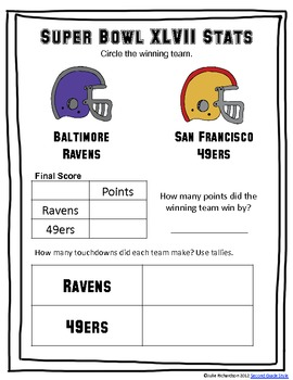 Super Bowl Writing & Review