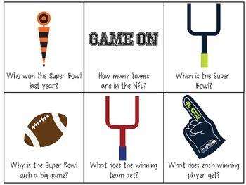 Super Bowl XLIX Language Activities