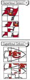 Super Bowl activities for pre-school, kindergarten, 1st grade
