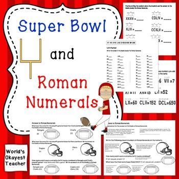 Super Bowl and Roman Numerals