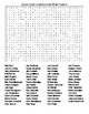 Super Bowl's  Winning Quarterbacks Crossword Puzzle and Word Search