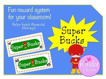 Super Bucks - Super Hero Reward System