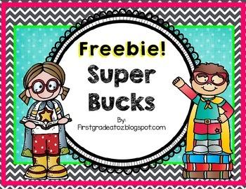 Super Bucks freebie