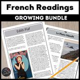 Growing Bundle - Intermediate/Advanced French readings
