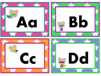 Super Bunny Word Wall Headers