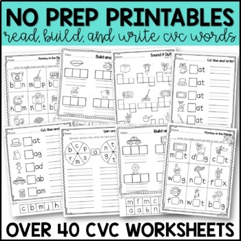Super CVC Words Practice