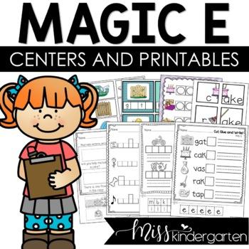 "Super CVCe Practice! {""magic e"" games and printables}"
