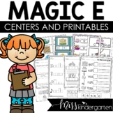Magic e Worksheets CVCe Activities
