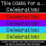 Super Celebration Notes Communication