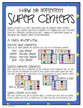 Super Centers Management System