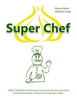 Spanish Cooking Show Unit (Super Chef)