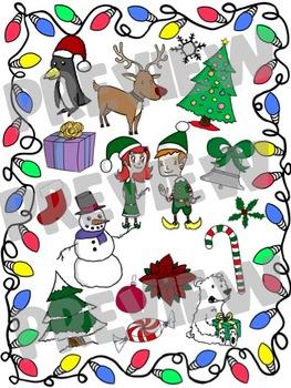 Super Christmas Clip Art Set