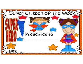 Super Citizen Packet