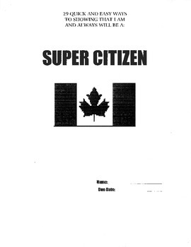 Super Citizen Project