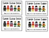 Super Clean Desk or Cubby Reward