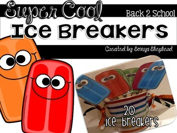 Super Cool Back to School Ice Breakers