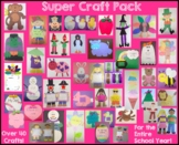 Super Craft and Activity Bundle - 44 Crafts and Activities for the Entire Year!