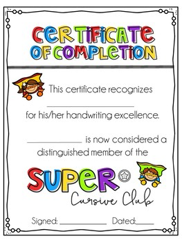 Super Cursive Club