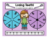FEBRUARY is Dental Health Month! 6 Math/LA centers. Color and BW prints included