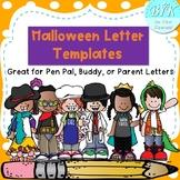Super Cute Halloween Letter Templates