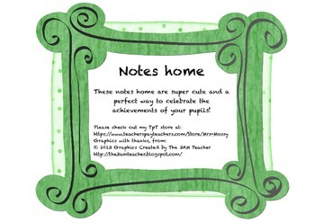 Super Cute Notes Home