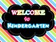 Super Cute Rainbow Back to School Welcome Screensavers