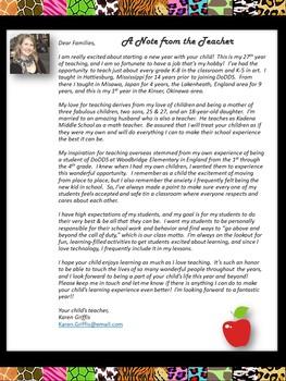 Classroom Newsletter- Safari Theme- Editable with Ideas- Meet the Teacher!