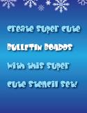 Super Cute Stencils for Bulletin Boards!