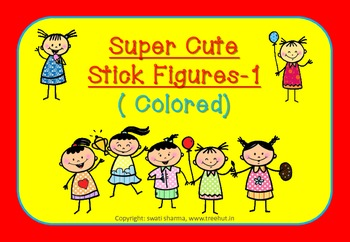 Super Cute Stick Figures-1 ( Colored)