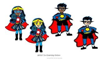 Super Cute Super Hero Kids