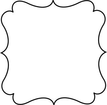 Super Cute White Frames