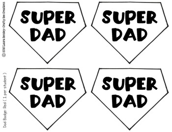 Super Dad & Mom Cut and Paste