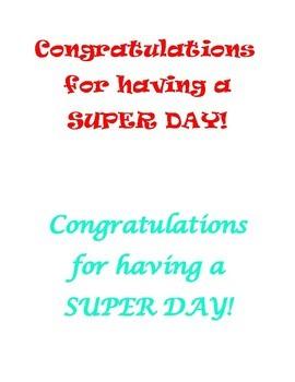 Super Day!
