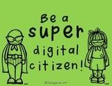 Super Digital Citizenship Posters