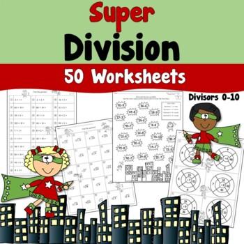 Super Division Worksheets