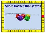 Super Dooper Dice Words - Consonants and Vowels