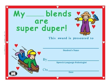 Super Duper Award - Blends