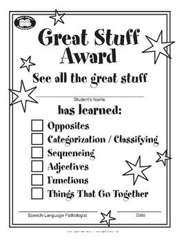 Super Duper Award - Great Stuff