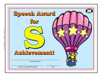 Super Duper Award - S Sound