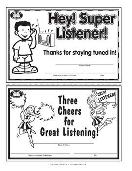 Super Duper Award - Super Listener