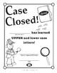 Super Duper Award - Upper and Lower Case Letters
