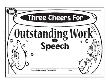 Super Duper Award for Outstanding Work in Speech