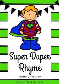 Super Duper Rhyme
