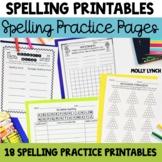 Spelling Practice Printables